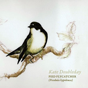 Kate Doubleday's Pied Flycatcher EP cover